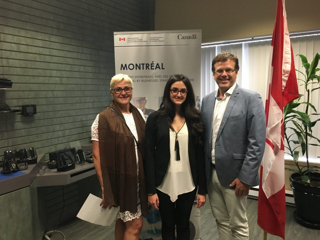 Conférence de presse Développement économique Canada